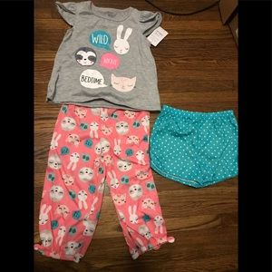 Girls Just for You by Carter's 3 piece outfit 3T
